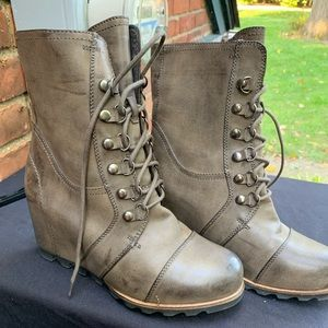 Merona (Target) wedged winter boots